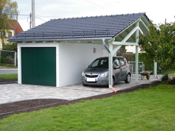 garage mit carport garage mit carport in holzoptik with garage mit carport garage mit carport. Black Bedroom Furniture Sets. Home Design Ideas